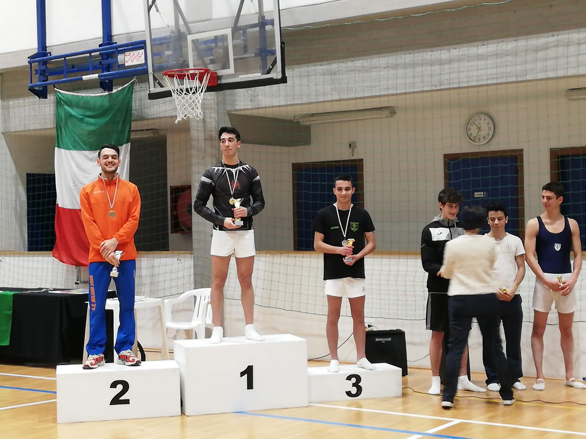 Marco Lavino vince la Coppa Campioni di Trampolino elastico-2